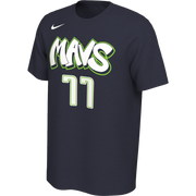 DALLAS MAVERICKS NIKE CITY EDITION 19-20 LUKA DONČIĆ NAME & NUMBER TEE