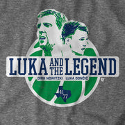 DALLAS MAVERICKS LUKA & THE LEGEND TEE