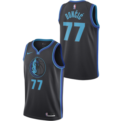 DALLAS MAVERICKS KIDS YOUTH CITY EDITION DONČIĆ SWINGMAN JERSEY