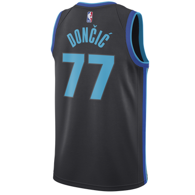DALLAS MAVERICKS LUKA DONČIĆ NIKE CITY EDITION 2018-2019 SWINGMAN JERSEY