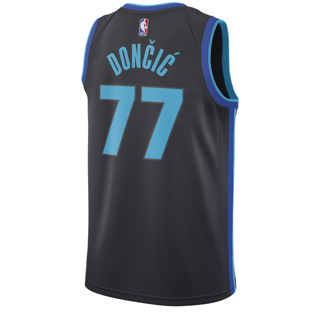 a2d29f43820 DALLAS MAVERICKS LUKA DONČIĆ NIKE CITY EDITION 2018-2019 SWINGMAN JERSEY