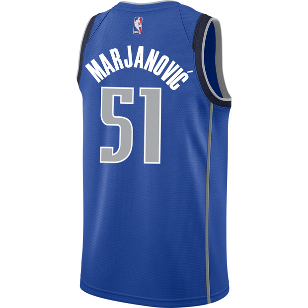 DALLAS MAVERICKS BOBAN MARJANOVIC ICON SWINGMAN JERSEY