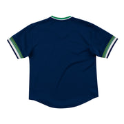 DALLAS MAVERICKS BIG & TALL HARDWOOD CLASSIC MESH V-NECK TEE
