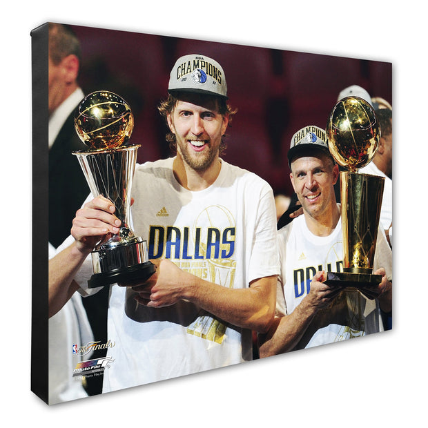 DALLAS MAVERICKS 'MVP' DIRK NOWITZKI CANVAS T