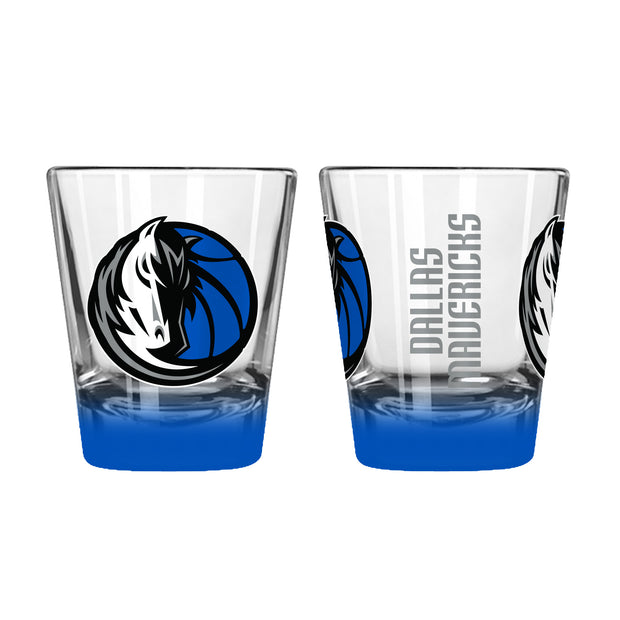 DALLAS MAVERICKS 2 OZ HORSE HEAD ELITE SHOT GLASS