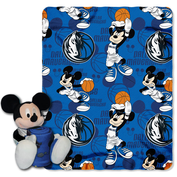 DALLAS MAVERICKS MICKEY MOUSE HUGGER SET