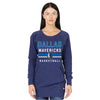 DALLAS MAVERICKS UNDER ARMOUR WOMENS COURT FLAG TEE