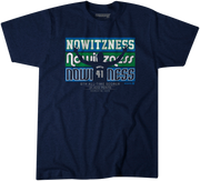 DALLAS MAVERICKS DIRK NOWITZNESS TEE
