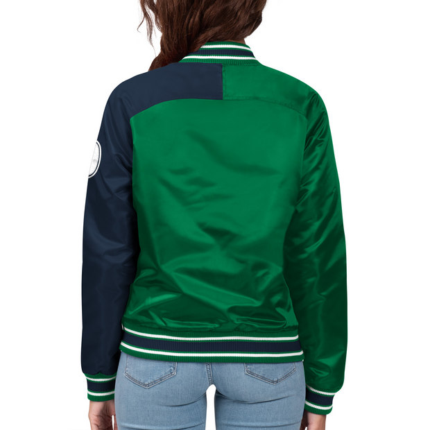 DALLAS MAVERICKS STARTER WOMEN'S ENDZONE POLYFILL JACKET