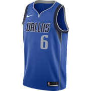 DALLAS MAVERICKS NIKE KRISTAPS PORZINGIS ICON SWINGMAN JERSEY