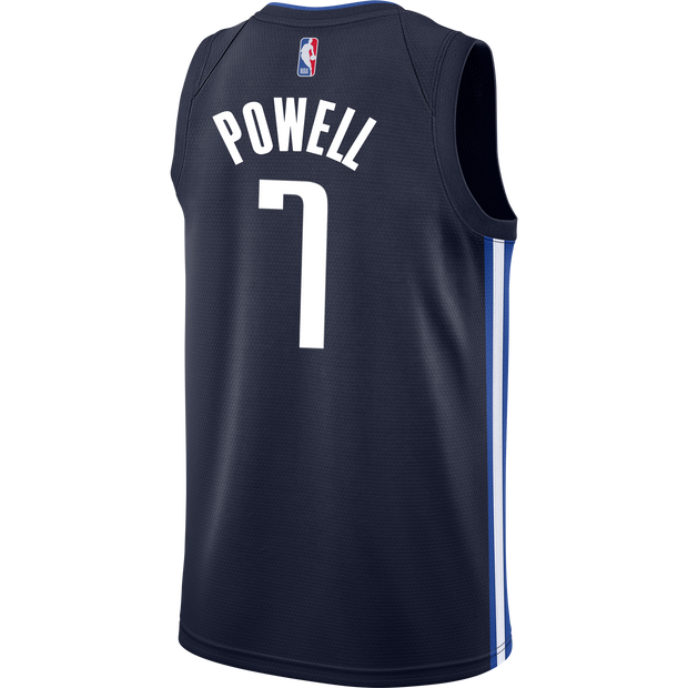 DALLAS MAVERICKS DWIGHT POWELL 20-21 STATEMENT SWINGMAN JORDAN BRAND JERSEY