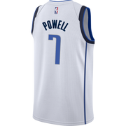 DALLAS MAVERICKS DWIGHT POWELL ASSOCIATION SWINGMAN JERSEY