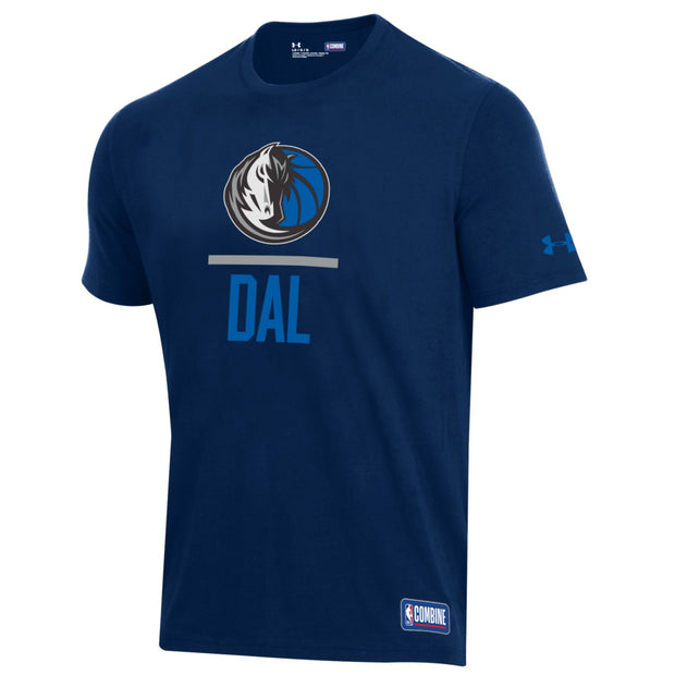 DALLAS MAVERICKS UNDER ARMOUR COMBINE LOCKUP TEE