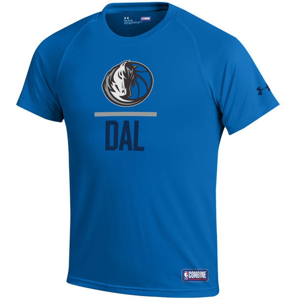 DALLAS MAVERICKS UNDER ARMOUR YOUTH COMBINE LOCKUP TEE