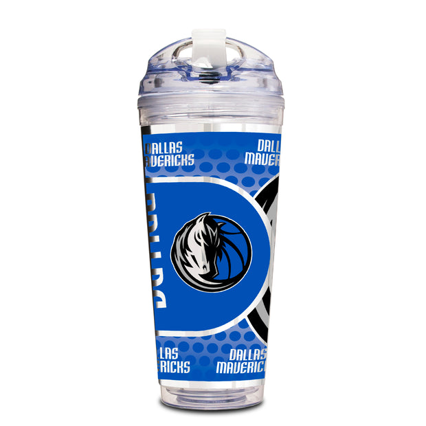 DALLAS MAVERICKS 24 OZ HORSE HEAD ACRYLIC TRAVEL MUG