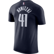 DALLAS MAVERICKS YOUTH NOWITZKI STATEMENT NAME & NUMBER TEE