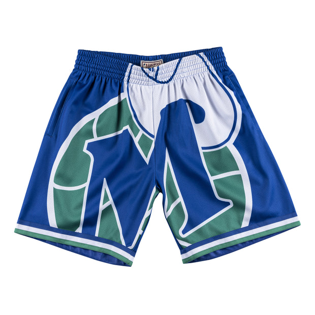 DALLAS MAVERICKS BIG M-HAT HARDWOOD CLASSIC SWINGMAN SHORTS