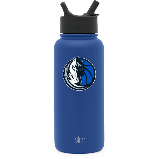 DALLAS MAVERICKS SIMPLE MODERN 32OZ ROYAL TUMBLER