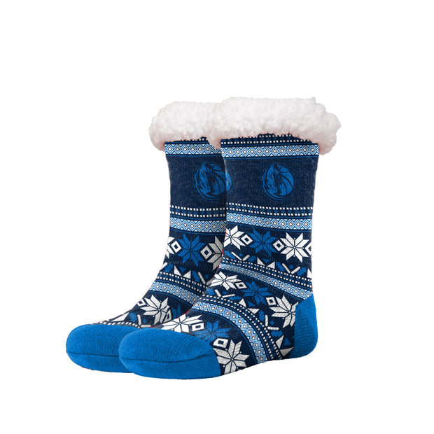 DALLAS MAVERICKS CHRISTMAS FOOTY SLIPPER