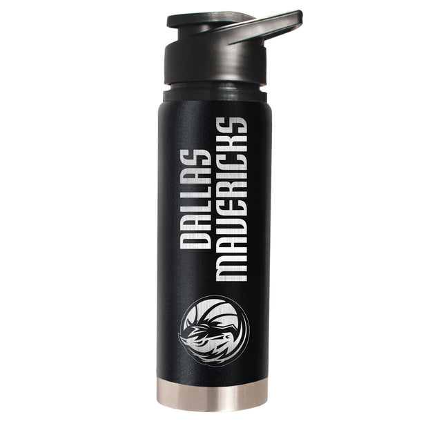 DALLAS MAVERICKS 20 OZ HORSE HEAD STEEL WATER BOTTLE