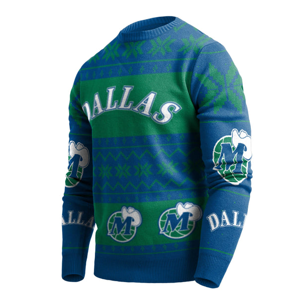 DALLAS MAVERICKS 2019 UGLY CHRISTMAS SWEATER