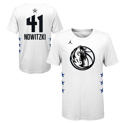DALLAS MAVERICKS YOUTH DIRK ALL-STAR TEE