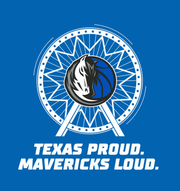 DALLAS MAVERICKS TEXAS PROUD MAVS LOUD STATE FAIR TEE