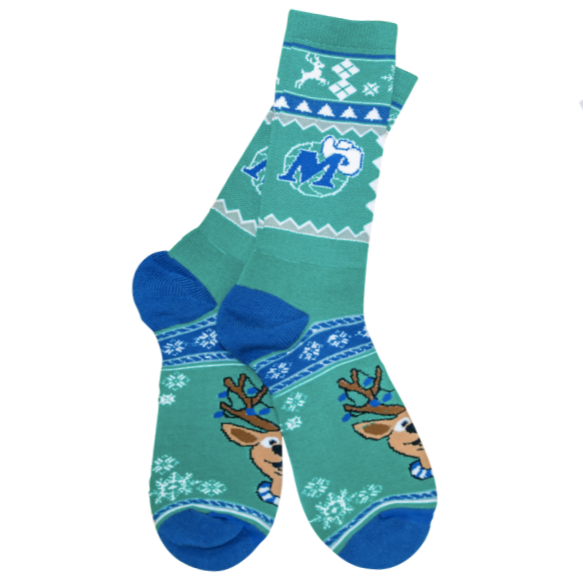DALLAS MAVERICKS UGLY SWEATER SOCK