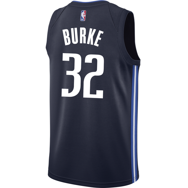 DALLAS MAVERICKS TREY BURKE STATEMENT SWINGMAN JERSEY