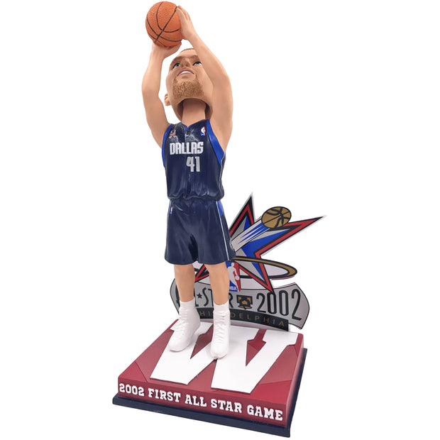 DALLAS MAVERICKS - W - DIRK NOWITZKI 2002 FIRST ALL-STAR APPEARANCE BOBBLE