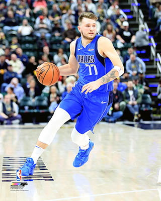 DALLAS MAVERICKS DONCIC ICON 8X10 PHOTO