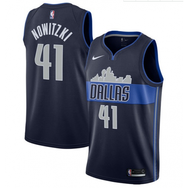 DALLAS MAVERICKS YOUTH DIRK SKYLINE JERSEY