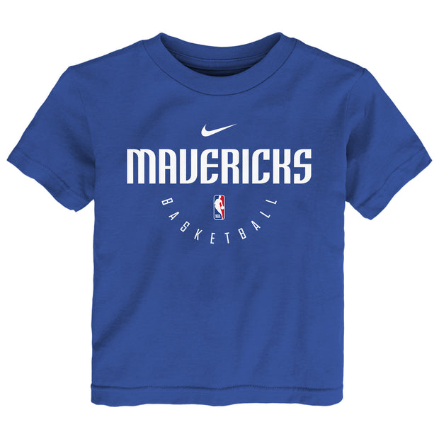 DALLAS MAVERICKS NIKE KIDS PRACTICE S/S TEE