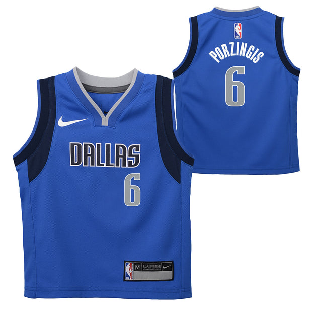 DALLAS MAVERICKS KIDS PORZINGIS ICON JERSEY