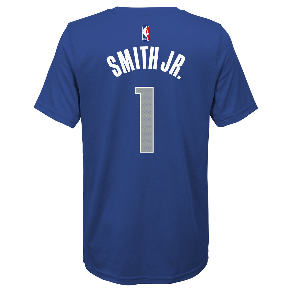 DALLAS MAVERICKS NIKE YOUTH DENNIS SMITH JR ICON NAME & NUMBER TEE