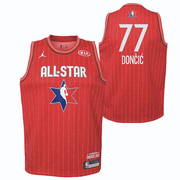 DALLAS MAVERICKS YOUTH LUKA DONCIC ALL-STAR 2020 RED JERSEY