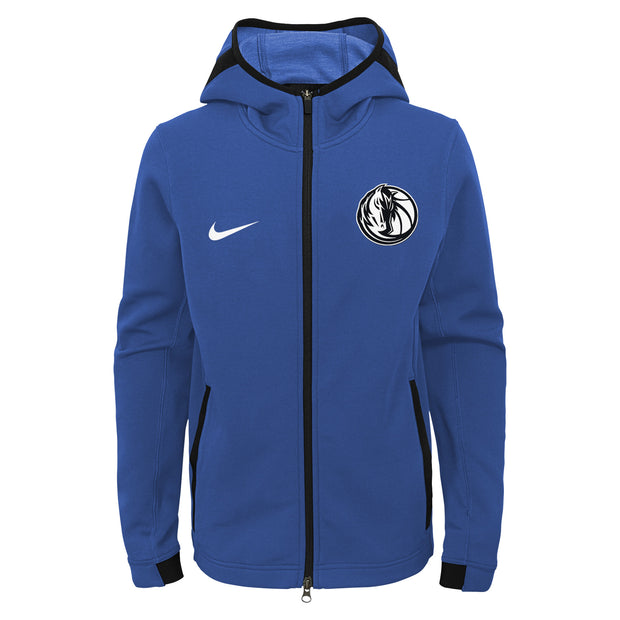 DALLAS MAVERICKS NIKE YOUTH ON COURT SHOWTIME FULL ZIP JACKET