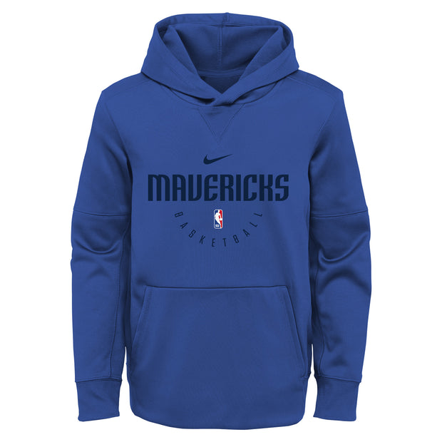 DALLAS MAVERICKS NIKE YOUTH SPOTLIGHT HOODIE