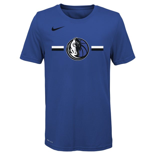 DALLAS MAVERICKS NIKE YOUTH LOGO S/S TEE ROYAL