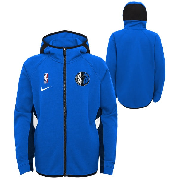 DALLAS MAVERICKS NIKE ON COURT YOUTH SHOWTIME ROYAL JACKET