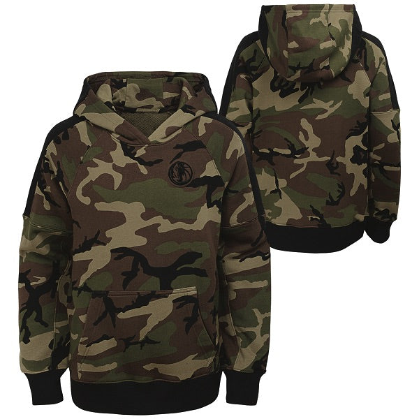DALLAS MAVERICKS NIKE YOUTH CAMO HOODIE