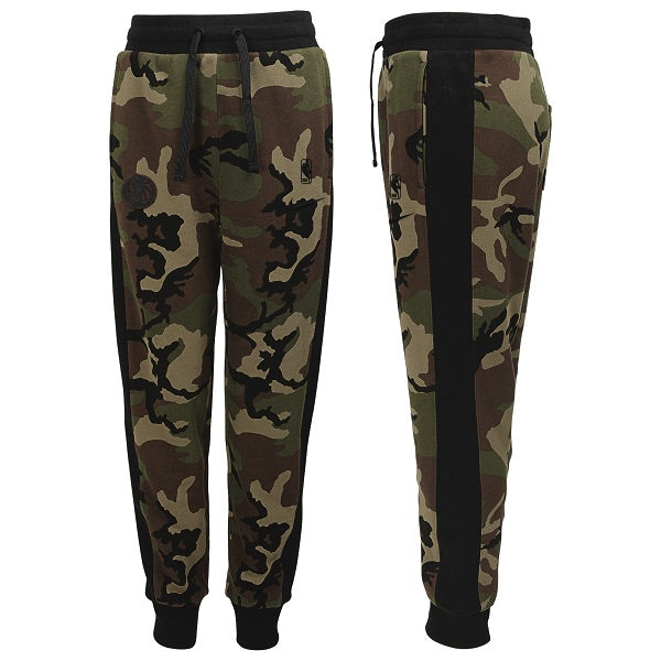 DALLAS MAVERICKS NIKE YOUTH CAMO PANTS