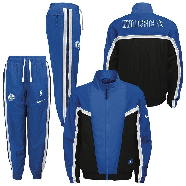 DALLAS MAVERICKS NIKE YOUTH ROYAL TRACKSUIT