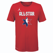 DALLAS MAVERICKS YOUTH LUKA DONČIĆ ALL-STAR 2020 RED PLAYER TEE