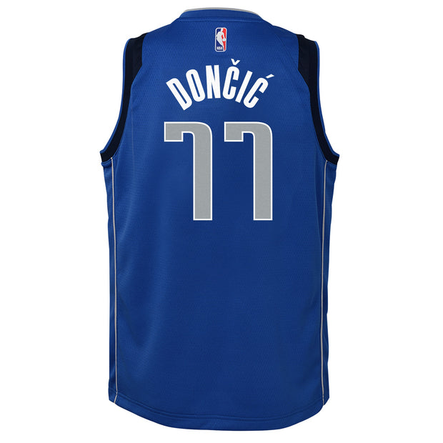 DALLAS MAVERICKS YOUTH DONCIC ICON SWINGMAN JERSEY