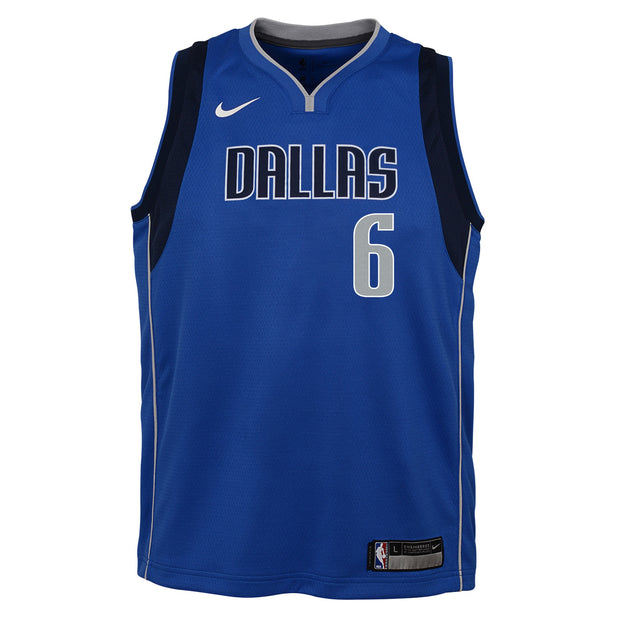 DALLAS MAVERICKS YOUTH KRISTAPS PORZINGIS ICON JERSEY