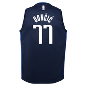 DALLAS MAVERICKS YOUTH DONCIC STATEMENT SWINGMAN JERSEY