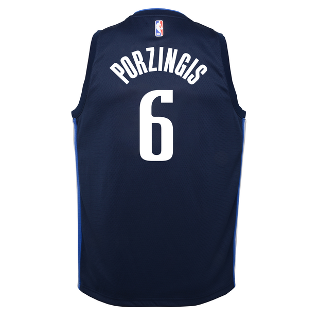 DALLAS MAVERICKS YOUTH PORZINGIS STATEMENT SWINGMAN JERSEY