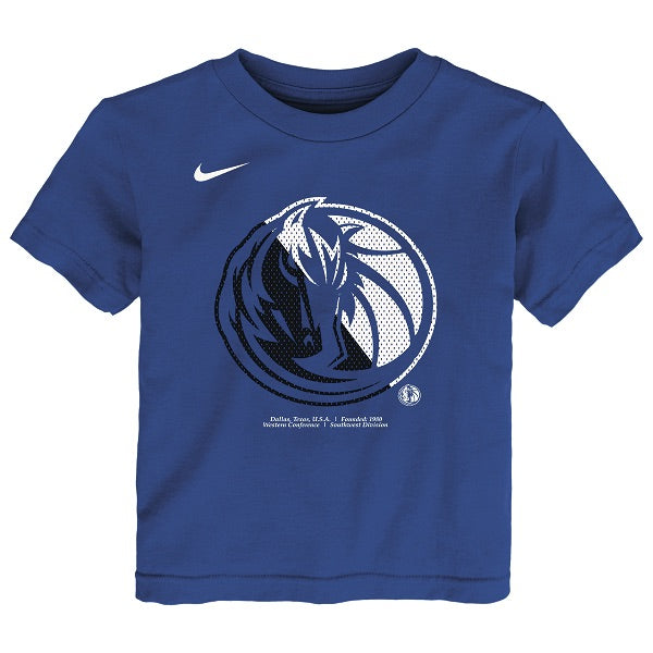 DALLAS MAVERICKS NIKE KIDS LOGO ROYAL TEE