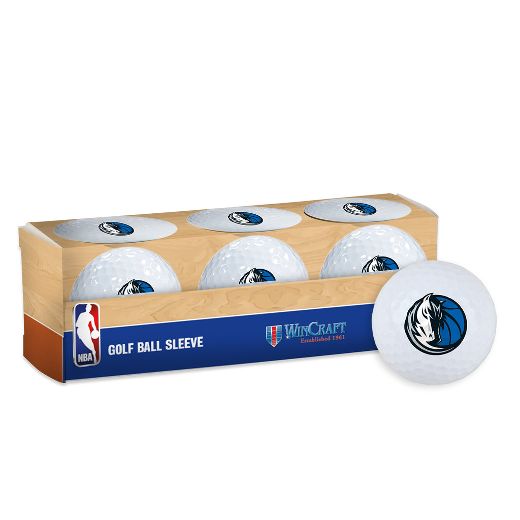 DALLAS MAVERICKS 3 PACK HORSEHEAD LOGO GOLF BALLS
